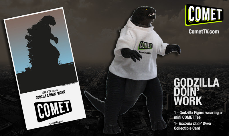 Giveaway: Win a Godzilla action figure from COMET TV!