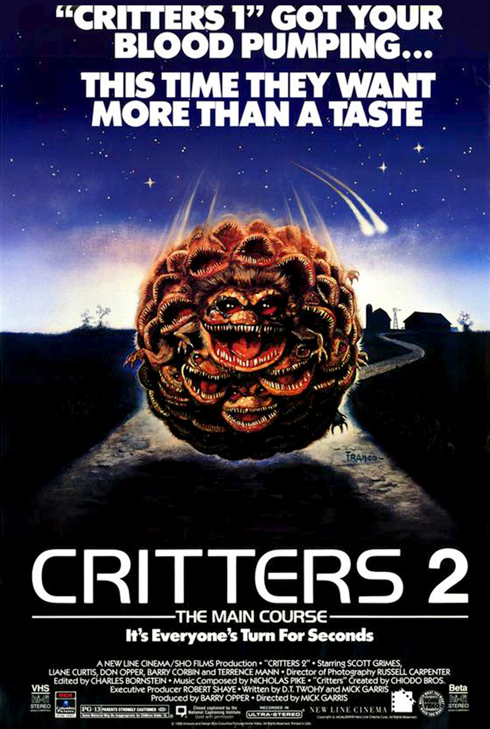 The Critters Collection Blu-ray Review (Scream Factory) - Cultsploitation