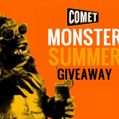 comet monster summer giveaway