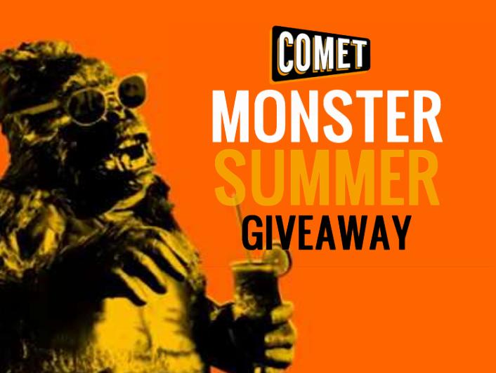 comet monster summer giveaway