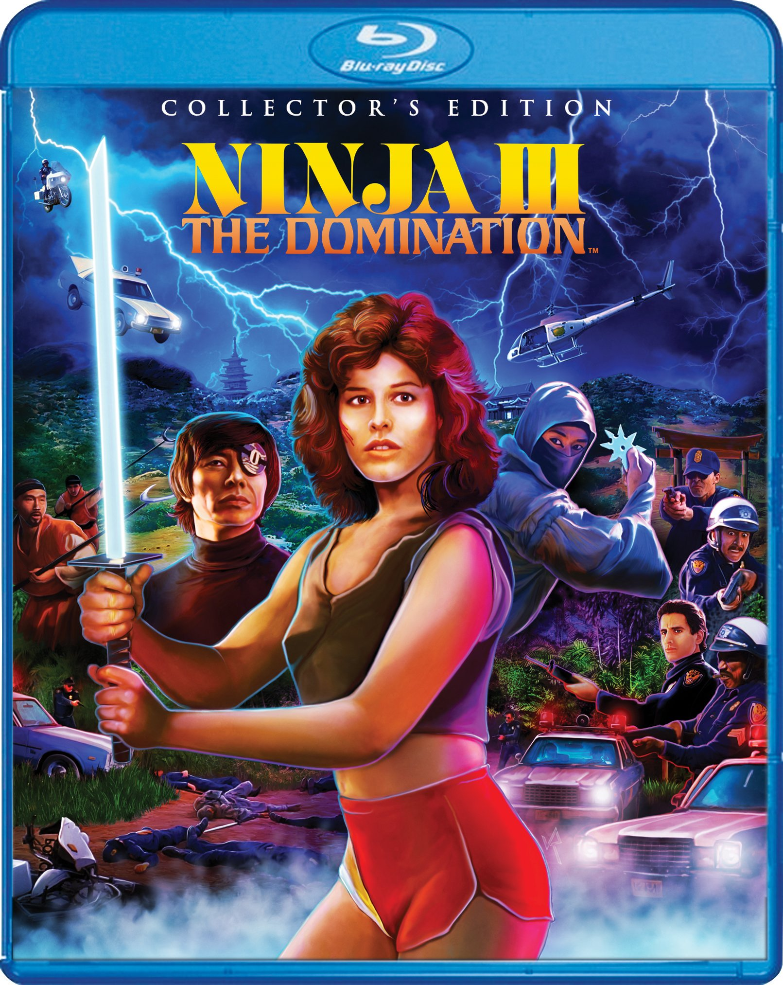 ninja iii the domination blu-ray