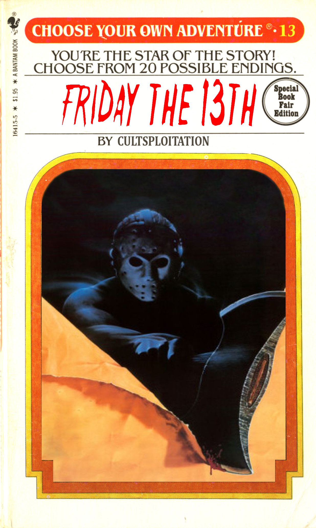 CHOOSE YOUR OWN ADVENTURE: Friday the 13th Choice 3D - Cultsploitation
