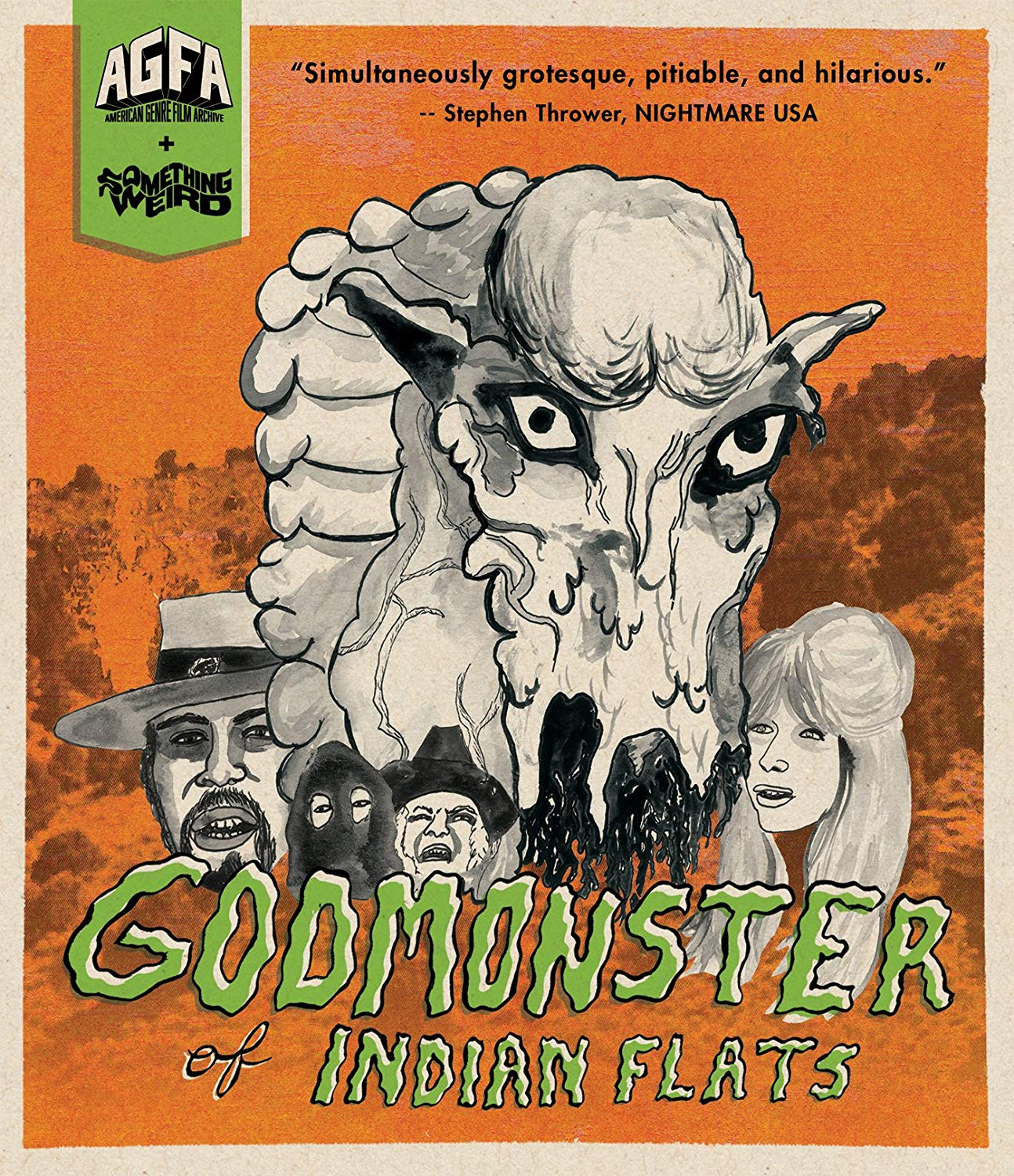 godmonster of indian flats blu-ray