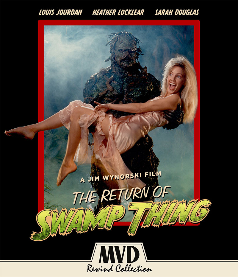 the return of swamp thing blu-ray