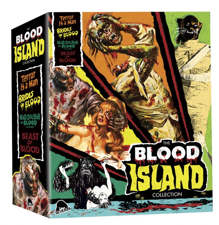 blood island collection blu-ray