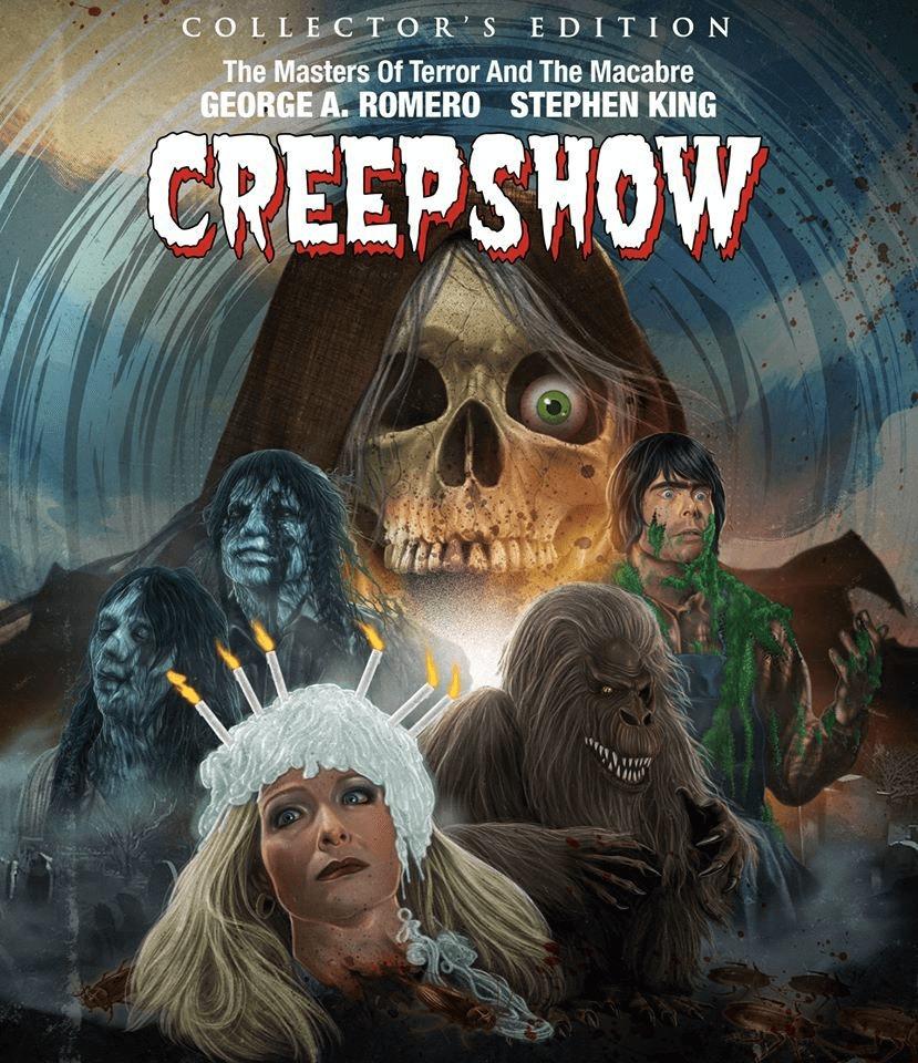 creepshow scream factory blu-ray