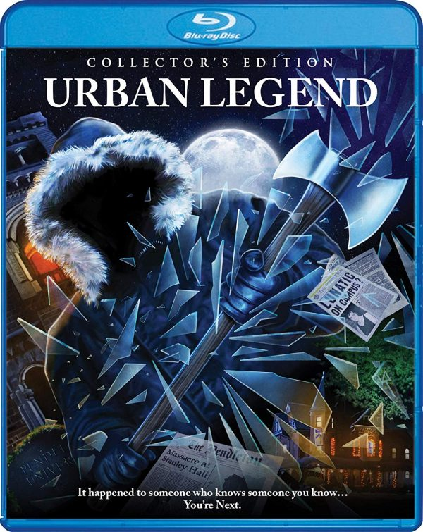 urban legend scream factory blu-ray