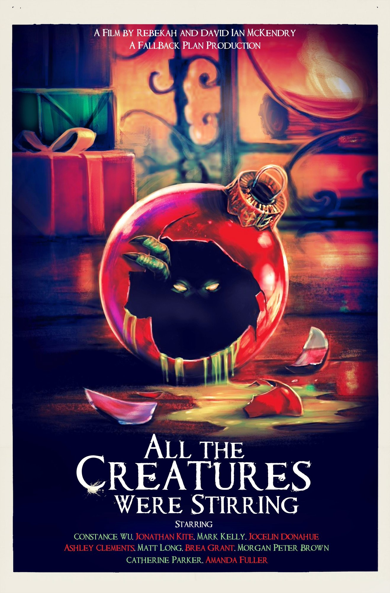 all the creatures were stirring poster