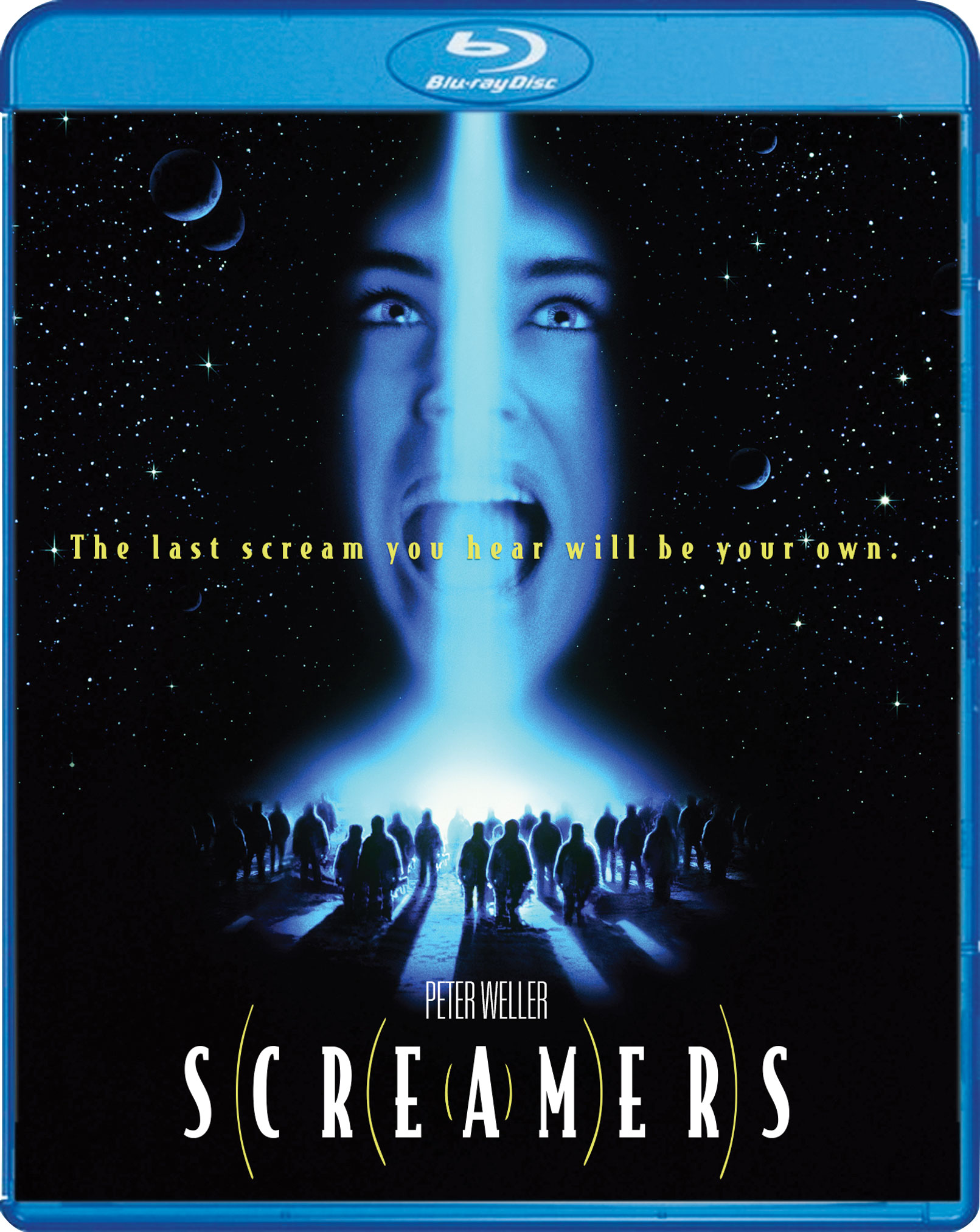 screamers scream factory blu-ray