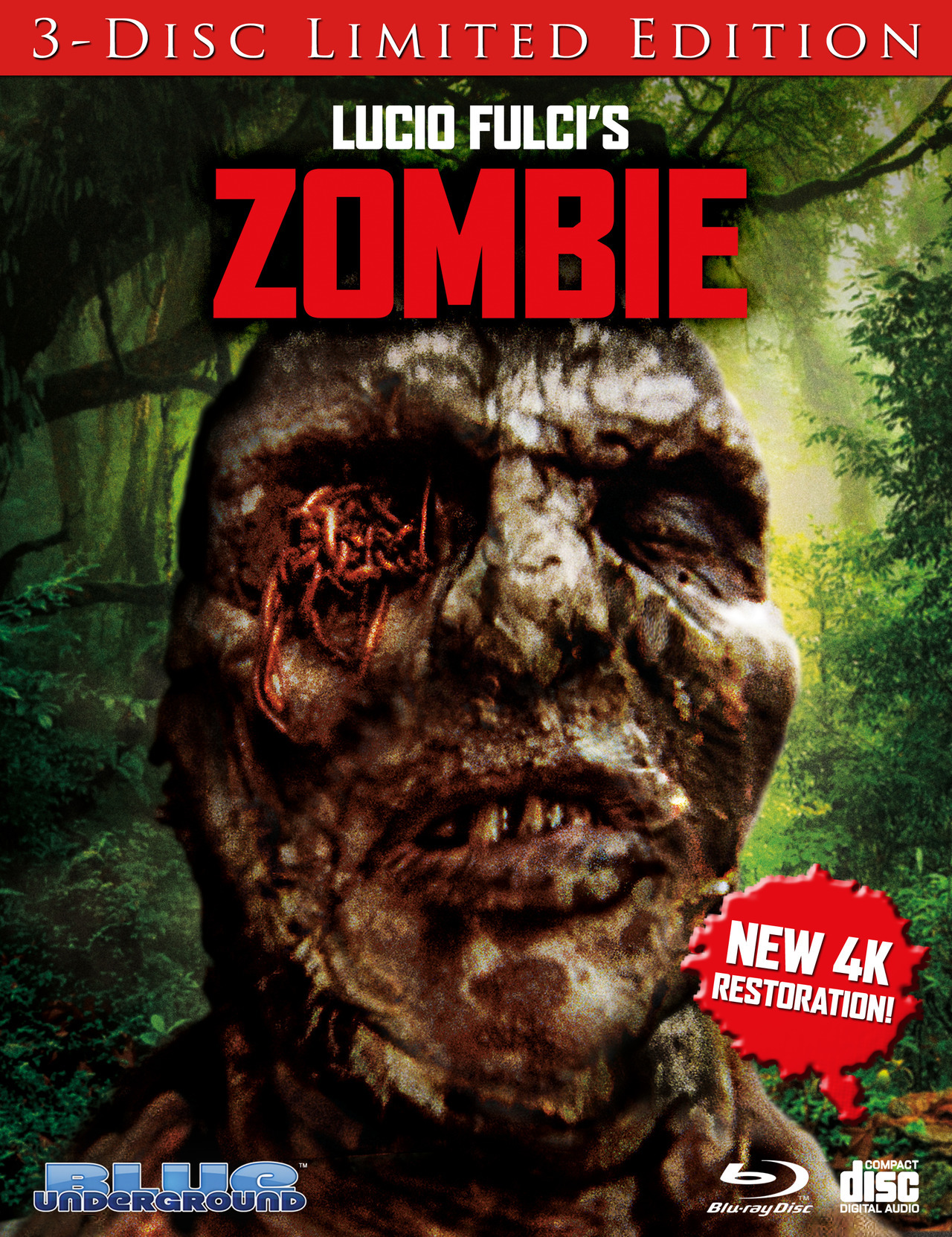Zombie Limited Edition Blu-ray Review #2 (Blue Underground) - Cultsploitation