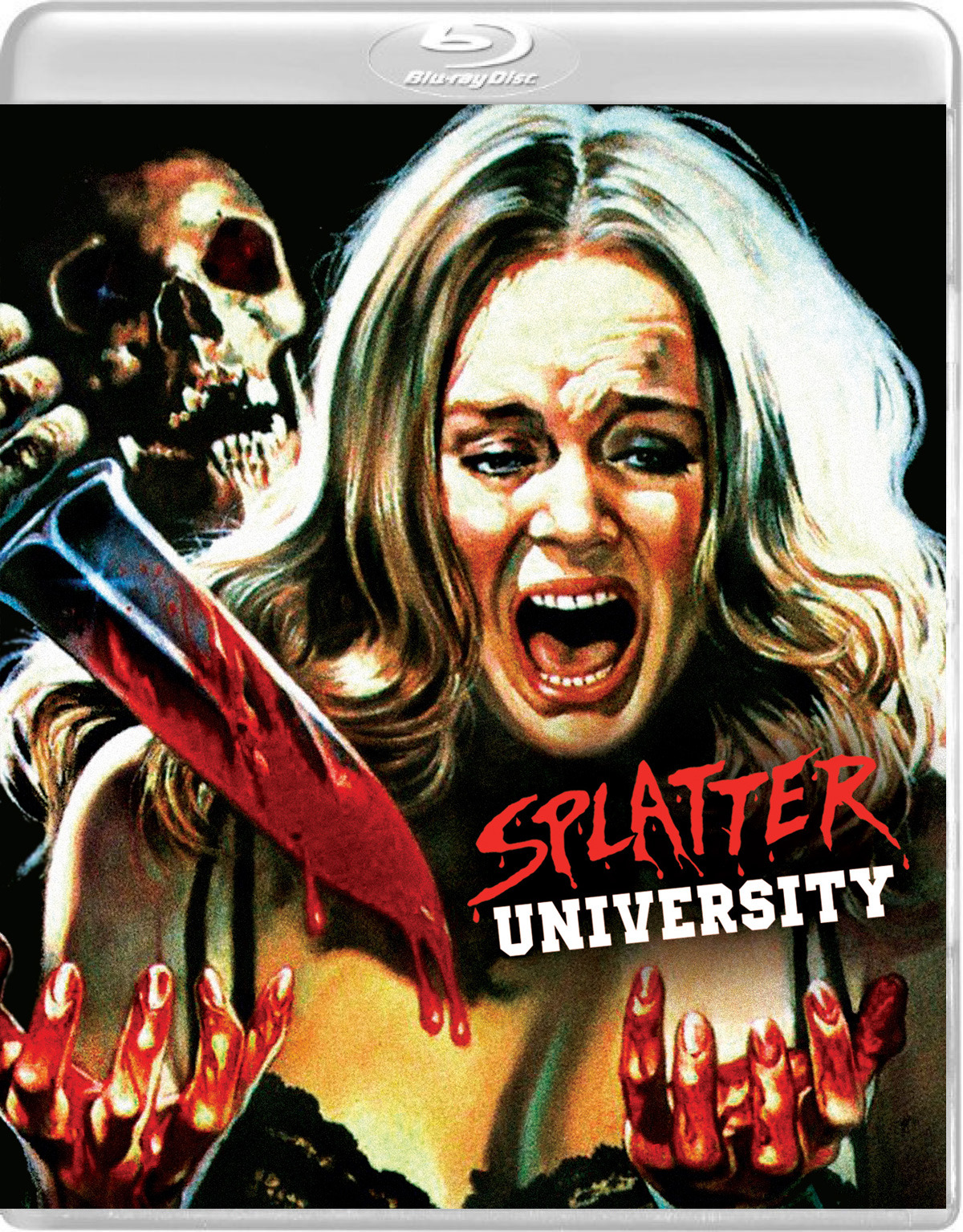 splatter university blu-ray