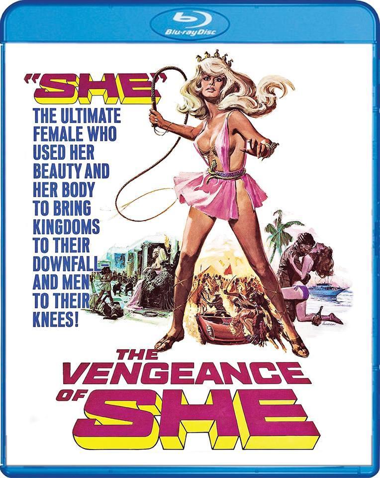 vengeance of she blu-ray
