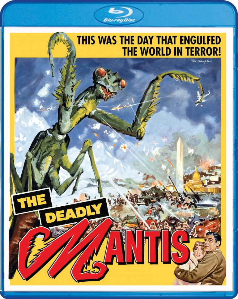 the deadly mantis blu-ray