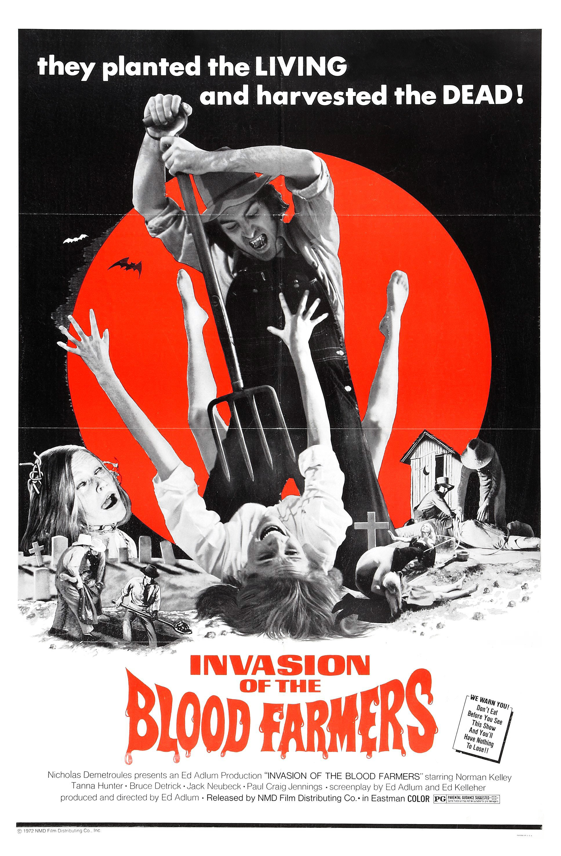 invasion of the blood farmers poster