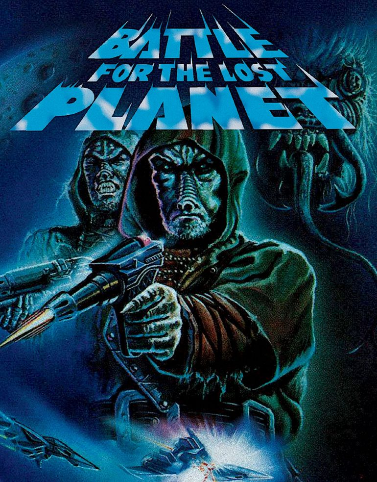 battle for the lost planet poster