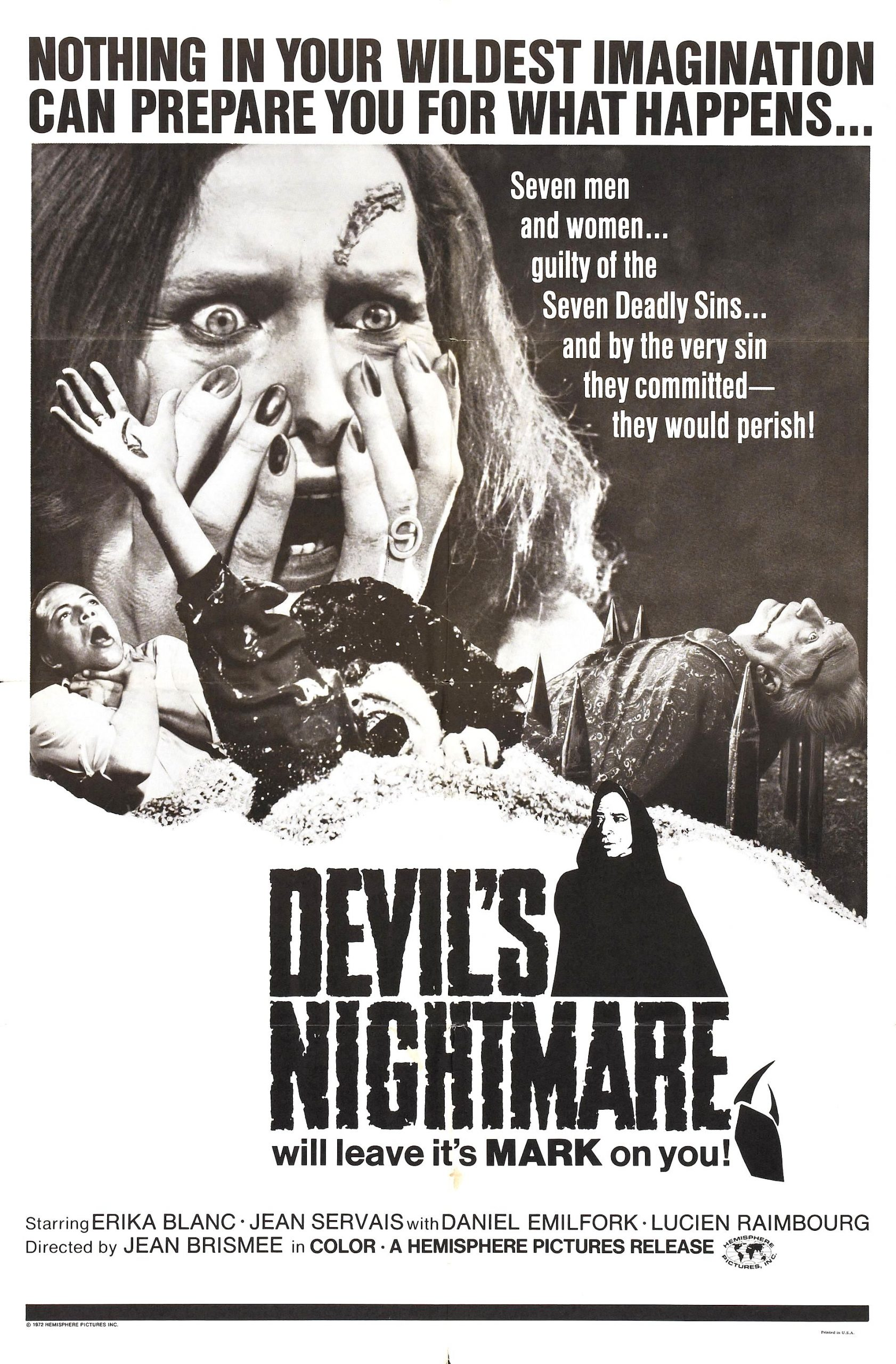 the devil's nightmare poster