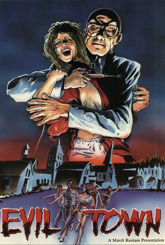 evil town poster