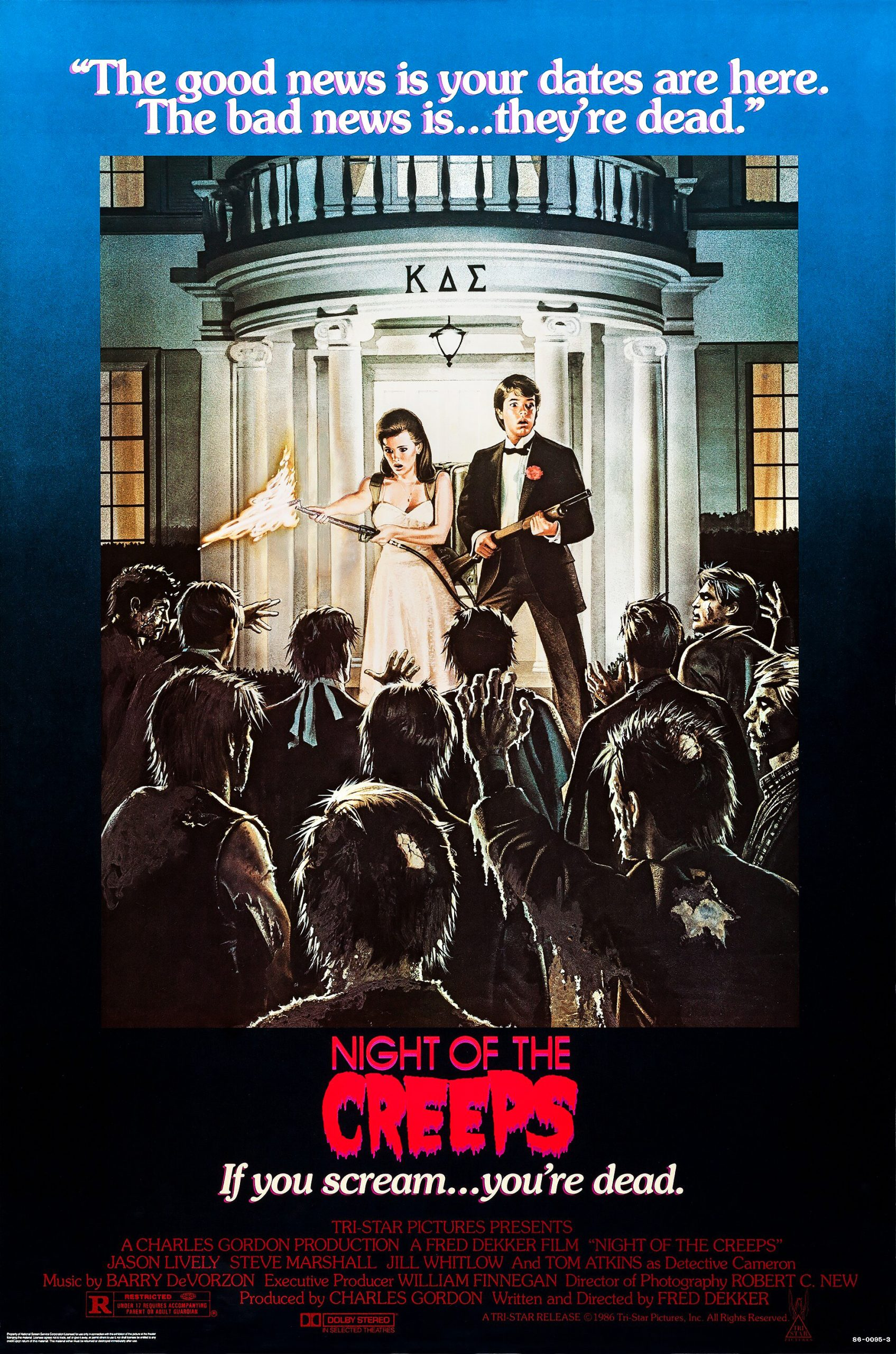 night of the creeps poster