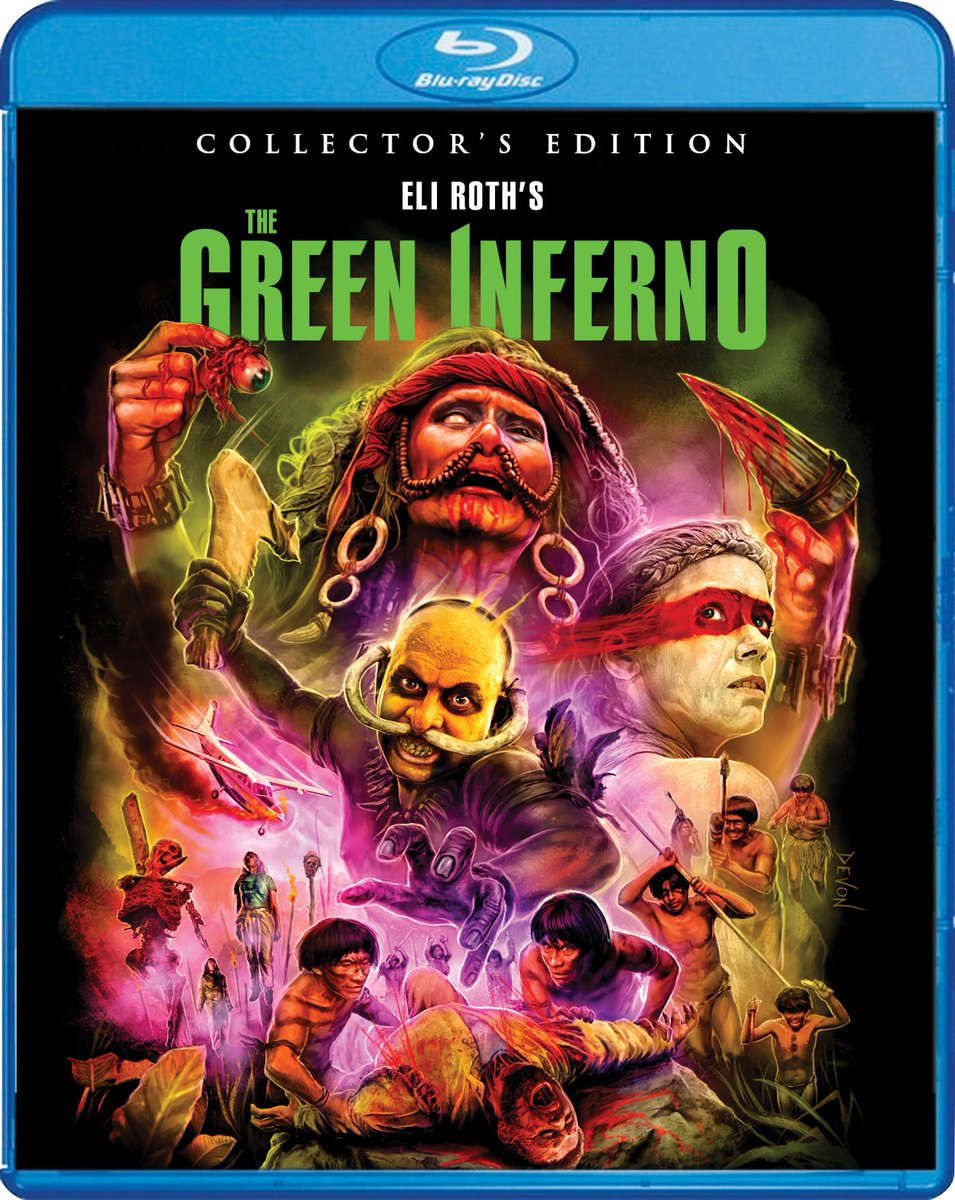 the green inferno blu ray