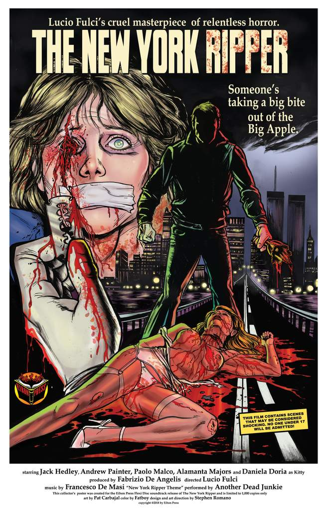 the new york ripper poster