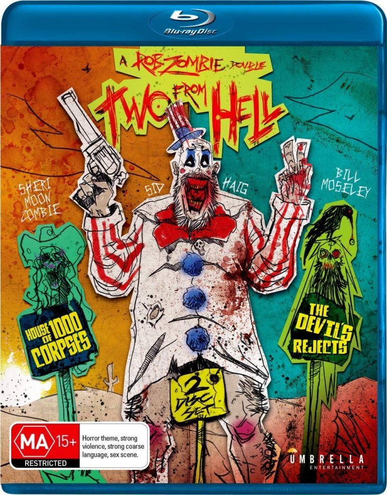 Two From Hell House Of 1000 Corpses The Devils Rejects