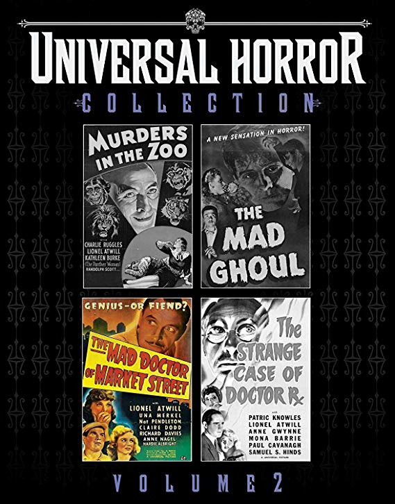 universal horror collection vol 2 mad doctor