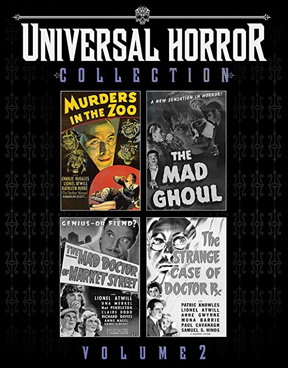 universal horror collection vol 2 murders