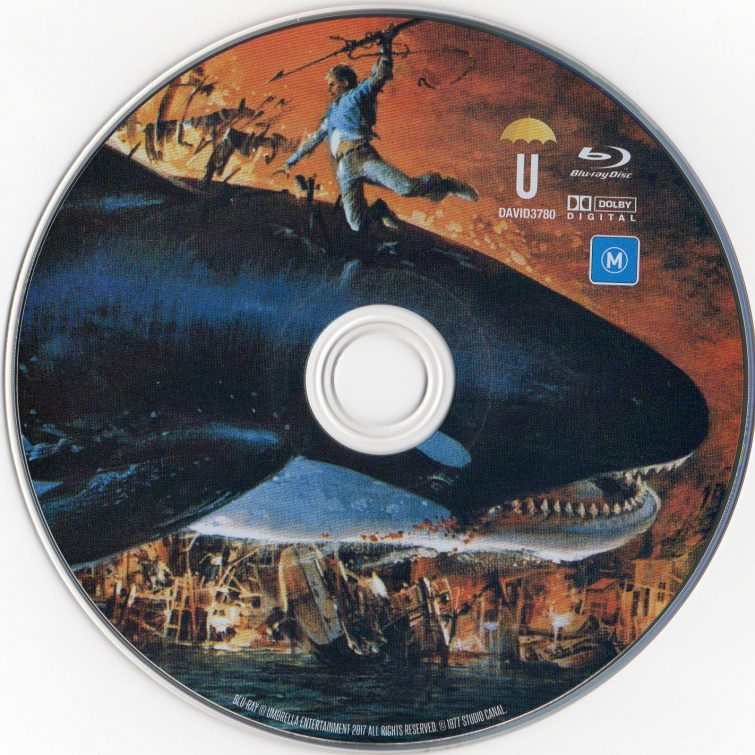Orca Umbrella Blu-ray Disc