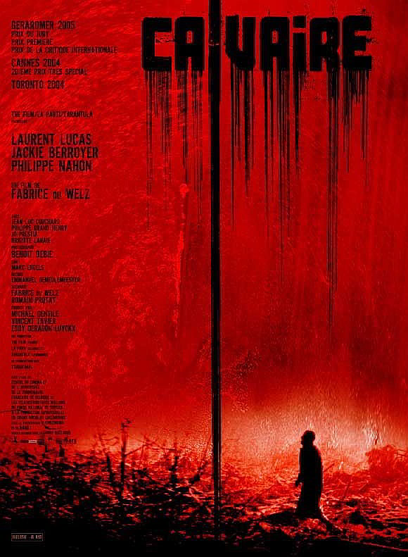 The cover art for the 2004 French horror film Calvaire.