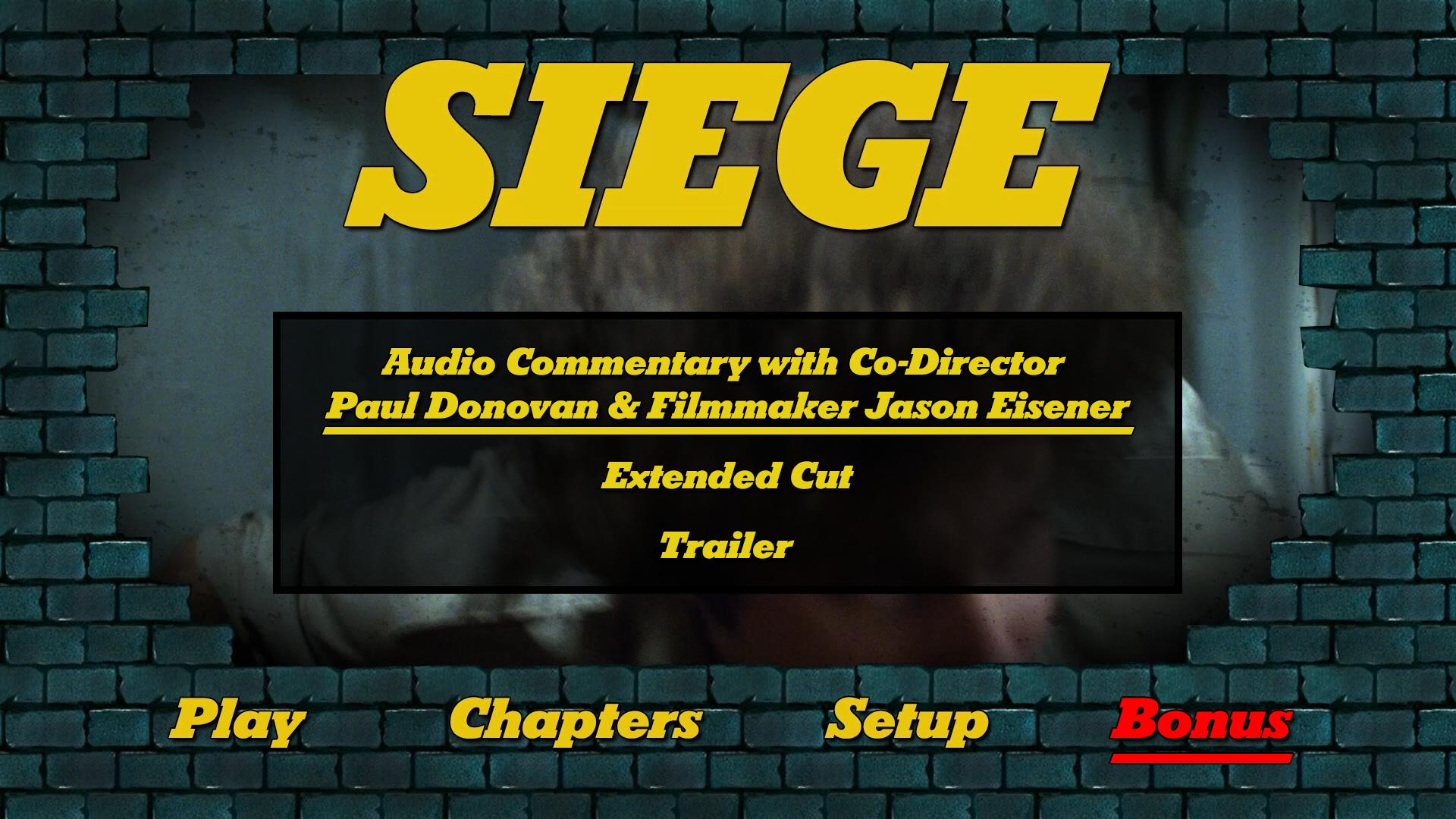 Siege extras menu